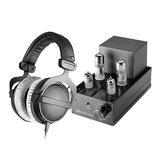 小不点MK2 真空管耳放搭配拜亚动力DT770 PRO耳机 高品质音乐欣赏HIFI听歌套装