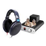 森海塞尔HD600发烧级高保真耳机搭配小不点MK4真空管耳放 高品质音乐欣赏HIFI听歌套装