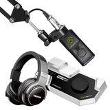 莱维特STREAM 4x5声卡(白色)搭配莱维特LCT 240 PRO麦克风 电脑手机直播K歌声卡套装 抖音全民K歌主播直播录音设备全套
