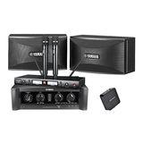 雅马哈KMS-710音箱搭配雅马哈KMA-1080功放   免点歌机 KTV套装