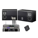 雅马哈KMS-2500音箱搭配雅马哈PX3后级功放    免点歌机KTV套装