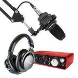 AKG C3000搭配富克斯特2I2 单人录音套装