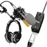 iRig PRE声卡搭配得胜K550P麦克风 手机K歌套装
