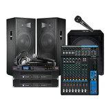 JBL JRX125 音箱搭配皇冠XLS 802D后级功放 舞台音箱