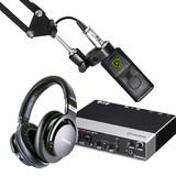雅马哈UR242声卡搭配莱维特LCT 240 PRO麦克风 录音套装