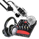 艾肯Upod Pro声卡搭配ISK T2050麦克风 网K套装