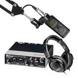 雅马哈(steinberg)UR22 MK II二代声卡搭配莱维特LCT 240 PRO录音麦克风  单人录音套装