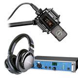 RME Fireface UCX声卡搭配莱维特LCT 840麦克风  录音套装