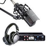 罗兰UA-1010声卡搭配得胜PC-K850麦克风    专业录音套装