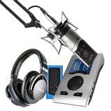 RME Babyface Pro声卡搭配森海塞尔MK4麦克风  电脑手机直播K歌声卡套装 虎牙主播直播录音设备全套