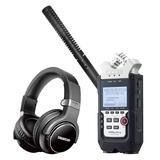 ZOOM H4n Pro录音机搭配罗德NTG2麦克风    影视同期录音套装