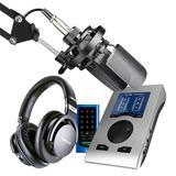 得胜TAK55麦克风搭配RME BabyfacePro声卡 电脑手机直播K歌声卡套装虎牙映客抖音主播直播录音设备全套