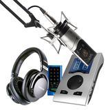 RME Babyface Pro声卡搭配森海塞尔MK4麦克风  电脑手机直播K歌声卡套装 虎牙映客抖音主播直播录音设备全套