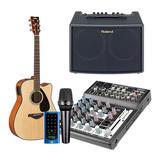 得胜XR-210FX调音台搭配莱维特MTP LIVE麦克风    户外吉他弹唱手机直播套装  抖音主播直播设备全套