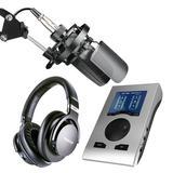 得胜TAK45麦克风搭配RME Babyface Pro FS声卡 专业个人录音配音设备套装