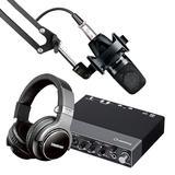 Steinberg/YAMAHA 雅马哈UR 24C声卡搭配舒尔PGA27 专业个人录音配音设备套装
