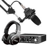 Steinberg/YAMAHA 雅马哈UR 22C声卡搭配爱科技C3000 专业个人录音配音设备套装