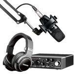 Steinberg/YAMAHA 雅马哈UR 22C声卡搭配舒尔PGA27 专业个人录音配音设备套装