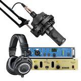 RME Fireface UCX声卡搭配索尼C-100麦克风 个人高品质专业级录音套装