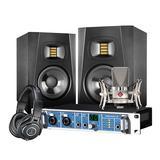 RME Fireface UC声卡搭配纽曼TLM 102麦克风   专业录音套装