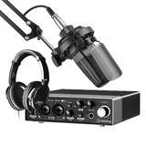 得胜TAK35麦克风搭配雅马哈UR22C声卡 专业个人录音配音设备套装套装