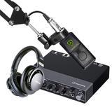 雅马哈UR 24C声卡搭配莱维特240PRO麦克风  专业个人录音配音设备套装