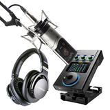 森海塞尔MK4麦克风搭配IXI M8声卡 单人录音套装