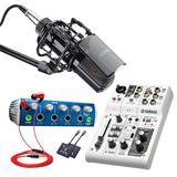 【多平台直播带货 桌面式方案】雅马哈AG03搭配得胜K850麦克风  电脑手机淘宝抖音快手主播直播带货设备全套