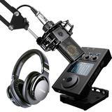 莱维特LCT440 PURE麦克风搭配IXI M8 plus声卡 电脑手机直播K歌声卡套装虎牙映客抖音主播直播录音设备全套