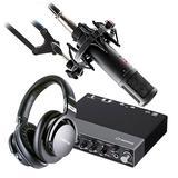 Steinberg/YAMAHA 雅马哈UR 24C声卡搭配sE ELECTRONICS se2200 麦克风 专业个人录音配音设备套装