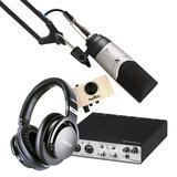 雅马哈UR RT2声卡搭配森海塞尔MK4 麦克风   精通级K歌录音套装
