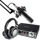 罗兰Rubix 24声卡搭配SE2200麦克风 专业个人录音配音设备套装