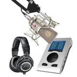 纽曼TLM103麦克风搭配 RME Babyface Pro FS声卡