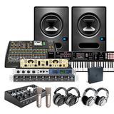 RME Fireface UFX+录音声卡搭配诺音曼U87麦克风 专业中型录音棚高配推荐