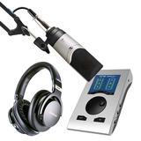 RME Babyface Pro FS声卡搭配森海塞尔MK4麦克风  单人录音套装