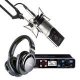 罗兰UA-1010声卡搭配森海MK4麦克风 录音套装