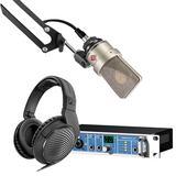 RME Fireface UC声卡搭配诺音曼103麦克风 录音套装