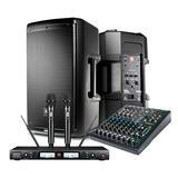 JBL EON610音箱搭配美奇ProFX10v3调音台 小型舞台演出套装