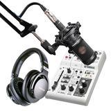 雅马哈AG03调音台搭配铁三角AT2035 网K套装