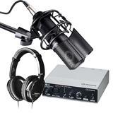 Steinberg(YAMAHA) 雅马哈UR12声卡搭配得胜PC-K750麦克风 个人专业录音套装