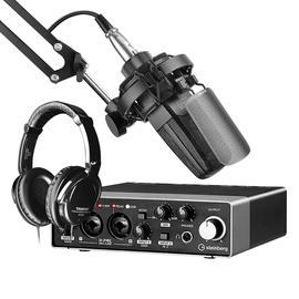 得胜TAK35麦克风搭配Steinberg/YAMAHA 雅马哈UR22C声卡 专业个人录音配音设备套装套装
