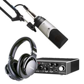 Steinberg/YAMAHA 雅马哈UR 22C声卡搭配森海塞尔MK4麦克风 专业个人录音配音设备套装