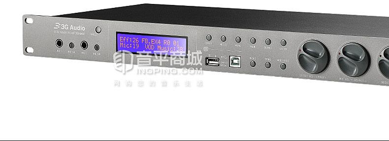 三基(3G Audio) 20X-KMIX1四通道数字前级效果处理器
