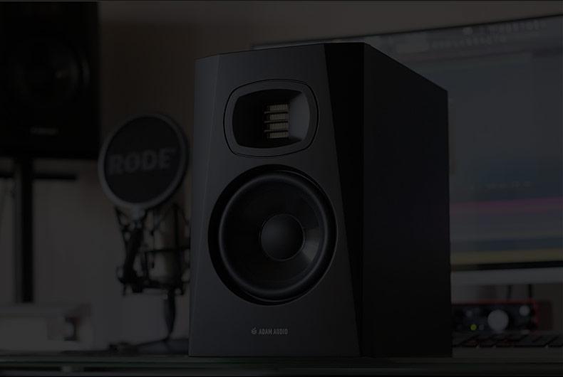 亚当(ADAM) T5V (5寸)二分频近场录音棚工作室桌面有源监听音箱(只)
