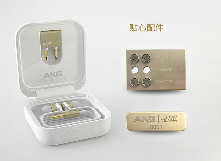 AKG K3003LE耳机清单