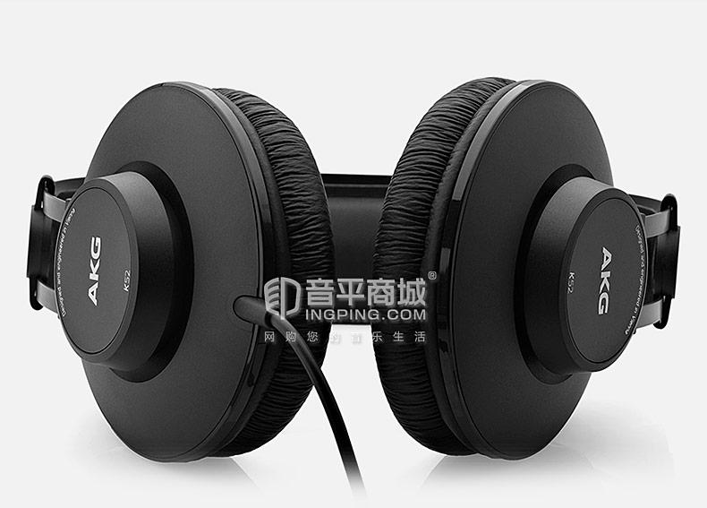 K52头戴式专业录音师监听发烧音乐耳机