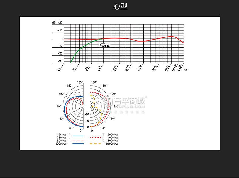 爱科技(AKG) C314 专业多指向大振膜录音直播电容式麦克风