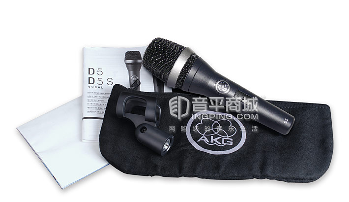 D5S麦克风包装清单