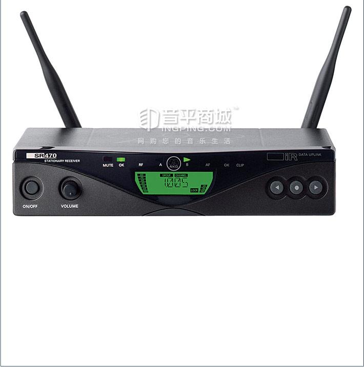 WMS470 D5 SET 一拖一手持话筒 无线演出话筒 技术参数