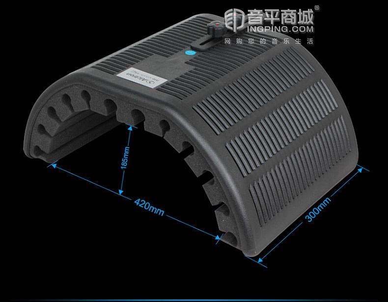 奥创(Alctron) PF66 话筒防风屏隔音屏吸音罩电容话筒防噪系统